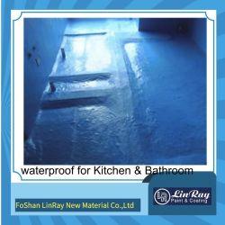 Plastik-Kleber-imprägniernlack-wasserdichtes Beschichtung-Material Foshan-Linray für Badezimmer