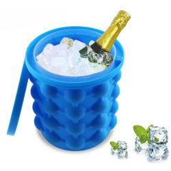 Amazônia mini-bar de Silicone Azul de alta qualidade Urso Vinho Criador de cubos de gelo balde