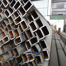 Carports Tubo Quadrado de papelão ondulado de alta qualidade EN10210 S235 do Tubo de Aço Preto Tubo retangular de ferro