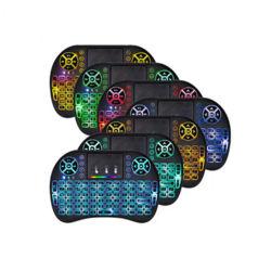 ألعاب صغيرة محمولة لوحة مفاتيح تلفزيون تيكلادومارت للهاتف المحمول الهاتف لوحة مفاتيح صغيرة لاسلكية طراز TecLدو I8