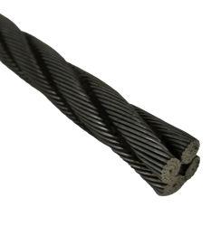 Hete Verkoop ASTM Met hoge weerstand A416 12.7mm Bundel van het Staal van PC van de Draad van de Kabel van het Staal van 7 Draad voor Voorgespannen Concrete Lage Ontspanning