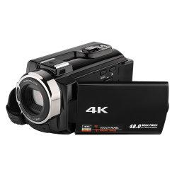 Ик-ночной съемки и 3 дюймовый емкостный сенсорный экран 2880*2160 4K Видеокамера видеокамеры