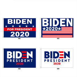 Las elecciones presidenciales de EE.UU. el logotipo impreso personalizado de indicador de la campaña electoral Trump Wholesale