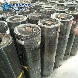 شبكة فولاذية خفيفة/قطعة قماش سوداء الأسلاك مرشح شبكي معدني/شبكة سوداء الأسلاك قطعة قماش