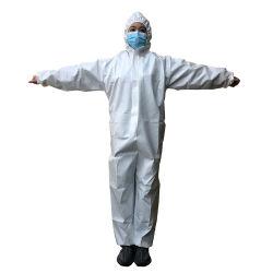 Wegwerpbare niet-geweven isolatiejassen Fabric Products voor ademende beschermende overall