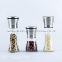 Кухонные приспособления многофункциональный корпус из нержавеющей стали солью и перцем Миллс шлифовальной машинкой с стеклянную бутылку
