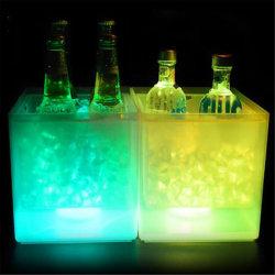 جرافة ثلج من نوع LED بلاستيكية مضاءة لتغيير الألوان