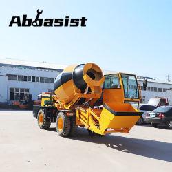 ماركة Abbaist AL3500 ماكينة خالط خرسانية خزان المياه سعة 3.5 سم/متر 660L مع محرك الديزل العامل بالطاقة للبيع