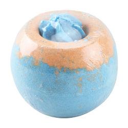 Super adorável perfumado Natural personalizáveis Deep Sea Salt colorido / Cake-Shaped Bombas para cuidados com a pele