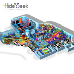 Style de la mer immense Kids Indoor d'équipement de terrain de jeux pour la vente