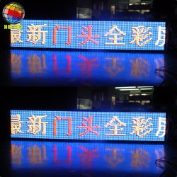 Outdoor défilement LED message émouvant Board Display
