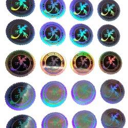 Adesivo Self-Adhesive Holograma a impressão de rótulos coloridos