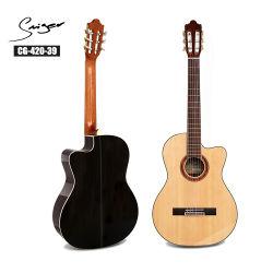 39 Pol Tamanho Completo Rosewood guitarra clássica para instrumentos musicais