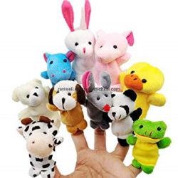 Venda Direta de fábrica de brinquedos de pelúcia Mascot Lado Marionete Fantoche de dedo brinquedo programável personalizada