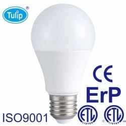 5W/ 7W/9W/10W/12W/15W/18W con aluminio de plástico de alta potencia SMD LED E27 bombilla con Ce/RoHS ETL// AEA el ahorro de energía de la luz de techo lámpara LED