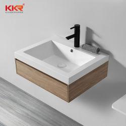 Salle de bains meubles personnalisés Gray mur accroché Cabinet Set de courtoisie