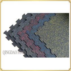 Kleurrijke Met elkaar verbindende RubberTegels die de RubberMatten van het Raadsel vloeren