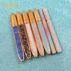 فتحات خاصة على الملصق تجمص أجزاء معدنية لقلم الغراء من تصنيع المعدات الأصلية (OEM) قلم رصاص قلم لوح