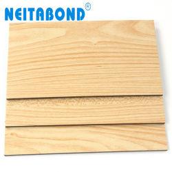 ورقة مركبة من الألومنيوم الخشب الشهير مقاس 2 مم مقاس 3 مم لحجراب المطبخ