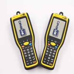 هدايا ترويجية بالجملة قلم مطاطي محرك شعار مخصص 2D PVC محرك أقراص USB محمول قلادة سعة 4 جيجابايت وسعة 8 جيجابايت و32 جيجابايت USB