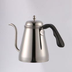 Wervi 1000mL ステンレススチール、高品質の Poer-over Coffee Kettle