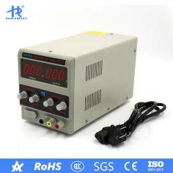 Levering van de Macht van de Omschakeling Laboratorium Geregelde gelijkstroom van de precisie de Regelbare 30V 5A Veranderlijke Digitale