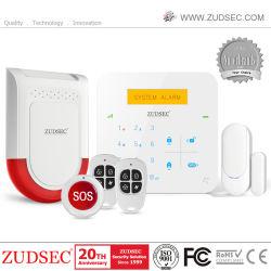 2020 горячей GSM WiFi дома тревоги с ЖК-дисплеем и приложений