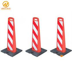 Señal de advertencia de plástico reflectante / placa de señal de advertencia para delineación de instrumentos de la Junta de advertencia de reflectante