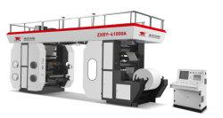 Zhuxin flexo de seis colores de alta velocidad de la máquina impresora de Ci (tambor central) para la Bolsa/Papel/PE/BOPP/Non-Woven Zxry-61000 modelo