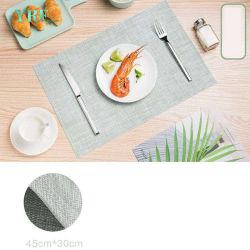 Le stuoie poco costose del PVC della Tabella di alta qualità di Placemat della tessile di Yrf hanno personalizzato le stuoie del poliestere