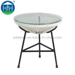 야외 등나무 레저 아카풀코 가구 의자 정원 위커 파티오 테이블