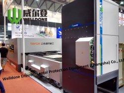 Coupe au laser CO2 Système de collecte de poussière de l'extracteur de fumée