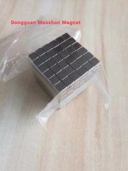 De vierkante Magische Magneet Van uitstekende kwaliteit van NdFeB van de Kubus 3*3