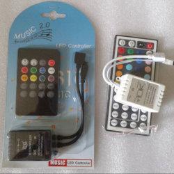 Regulador impermeable del telecontrol de la tira del RGB 5050 LED