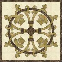Dekoration-materielle Marmorbeige u. Brown-Muster-Fliese/Wasserstrahlbodenbelag