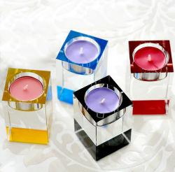 2016 Populares Tealight Vidro cristal castiçal de recreio