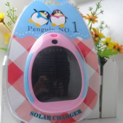 Penguin Carregador Solar, 3500mAh carregador Solar, Carregador Solar para telemóvel