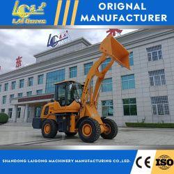 Новая конструкция Китай 1,5 тонн Small Mini компактный сельскохозяйственного и строительного передней колесный погрузчик с Евро 5 двигатель CE