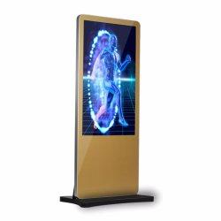 실내 스탠드 Super Silm LCD 광고 디스플레이