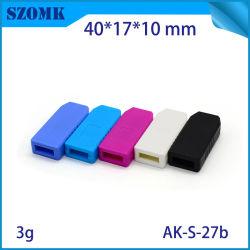 Petite coloré en plastique du boîtier de commande USB pour le PCB