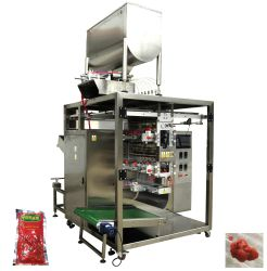 4 측에 의하여 밀봉되는 향낭을%s 다중 차선 토마토 페이스트 또는 크림 포장기