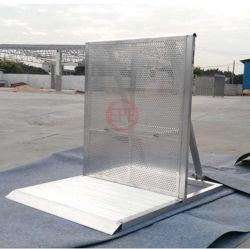 Aluminium-Sicherheitsbarrieren mit Crowd Control-Türschutz und TÜV-Zertifizierung