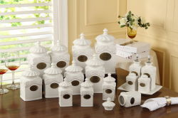 Kitchecn Ware Jar, pot en céramique, porcelaine pot (B1250)