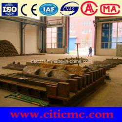Plancha y revestimientos para molino de bolas de acero de manganeso Superhigh