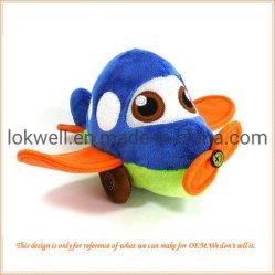 Lujoso vehículo avión los niños juguetes de peluche