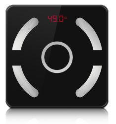 elektronische ausgeglichenes Glas Bluetooth Karosserien-Badezimmer-Digital-Schuppe der Qualitäts-180kg/100g