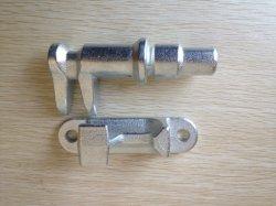 Fundição de zinco de aço/acessório do corpo da máquina/dobradiça trava/Peças de fundição