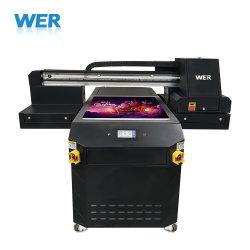 Wer Marca A1 impressora plana UV para madeira, couro, vidro, Matel