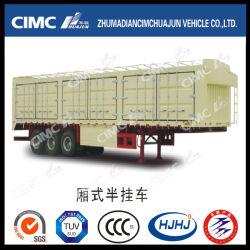 Cimc Huajun Ван Semi-Trailer со шторкой рулевой тяги