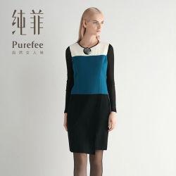 한국 사무실은 도매 상한 형식 숙녀 복장을 옷을 입는다